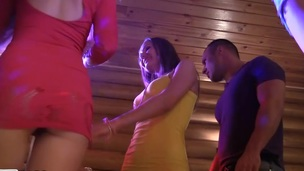 Amazing student sex scenes on which the beautiful college cuties dance flashing up skirts and tease guys for fuck.