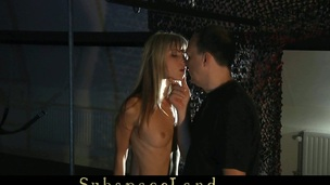Skinny golden-haired misbehaved her Slavemaster and now s&m discipline must be applied. Bent over in doggie her gazoo is suffering the nearly any below the biting slapping. This Babe is imobilizated for an everlasting submission.