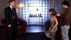 Here u have it guy, the hottest legal age teenager Japanese playgirl Sakurako in some of the hottest action that u will ever watch as that sweetheart bonks the crap out of some business guys and u will be seeing her in some of the hottest three-some where this sweetheart sucks 2 dicks at the same time and gives a really good tit fuck that u absolutely expect a fine jizz flow from.
