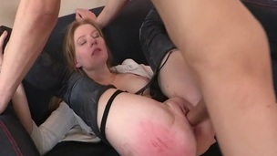 Observe the hardcore dick sucking done by the perfectly hot cutie