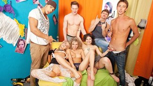 Real fucking movies where the exposed students and cuties partying have the sexy fun and pleasure during the time that hard student fuck, college anal sex and student blow job
