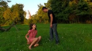 tenåring babe amatør par