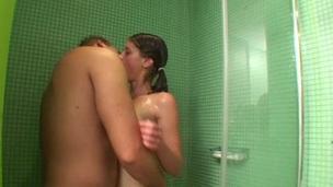 tenåring hardcore sjarmerende dusj