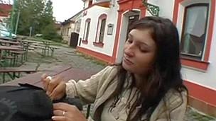 tenåring babe hardcore blowjob amatør kjønn utendørs offentlig