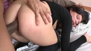 This perfect amateur beauty is getting her pounded with the schlong