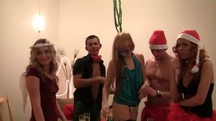 They wanted hawt student fucking for Christmas, and they got it! Watch the nasty students go wild!