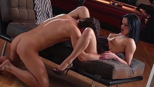 brunette sexy utrolig puling blowjob kjønn